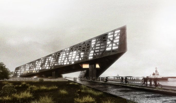 Proposal for residential, workspace, commercial space and public functions in Amsterdam, Nederlands