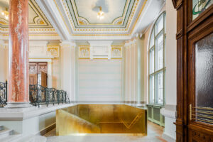 V. Neimaņa building in Riga restoration and new exhibition halls