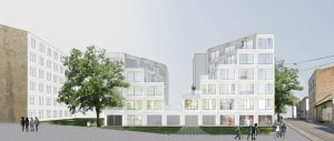 Apartment building in Riga, Latvia