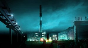 Proposal for street art museum on operating factory plot in St. Petersburg